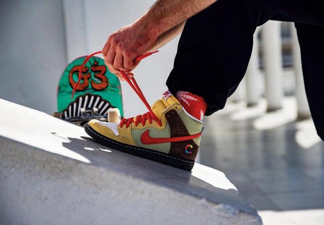 BBQ 螺旋烤肉主题 Color Skates x SB Dunk High Kebab and Destroy CZ2205-700